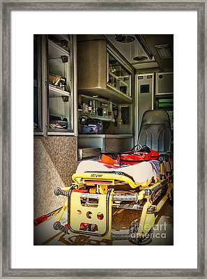 Ambulance - Trip Of A Lifetime  Framed Print by Paul Ward