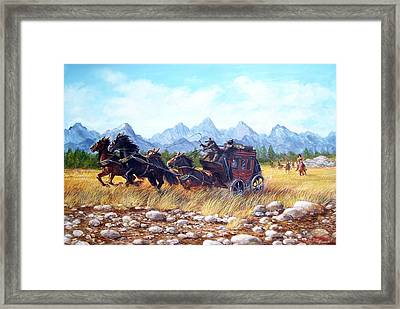 Ambush Framed Print