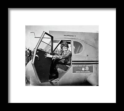 Hammond Framed Prints