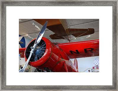 Amelia Earhart Prop Plane Framed Print
