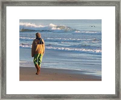 Amelia Island Framed Print by Joy Nichols