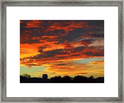 Amelia Sunsets 23 Framed Print