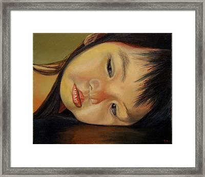 Amelie-an 12 Framed Print