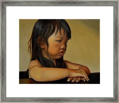 Amelie-an 15 Framed Print