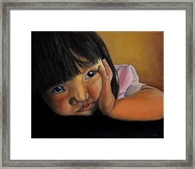 Amelie-an 2 Framed Print