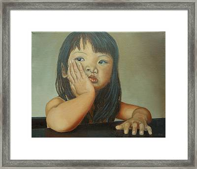 Amelie-an 6 Framed Print by Thu Nguyen