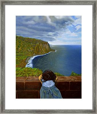Amelie-an 's World Framed Print