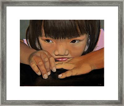 Amelie-an Framed Print