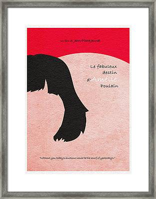 Amelie Framed Print by Ayse Deniz