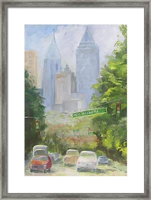 Amen Corner Framed Print by Susan Richardson