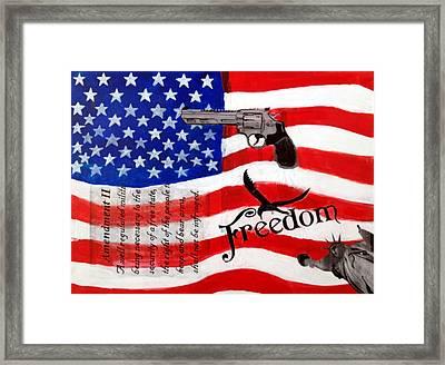 Amendment II Framed Print by Made by Marley