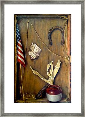 7/11 Framed Print by Janet McGrath