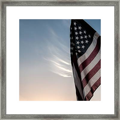 America Framed Print by Peter Tellone