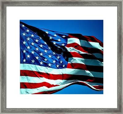 America Framed Print by Tara Miller