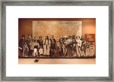 Framed Print featuring the photograph America The Beautiful by Ram Vasudev