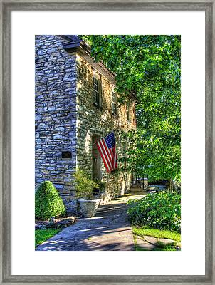 America You Are Beautiful Framed Print by Sharon Batdorf