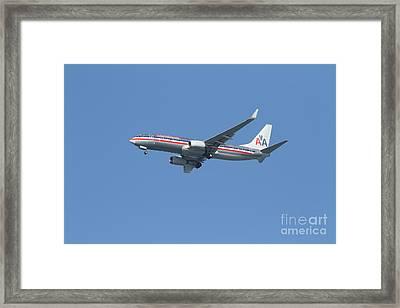 American Airlines Jet 7d21917 Framed Print