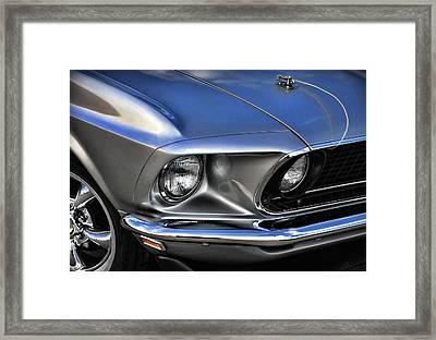 American Badass Framed Print by Gordon Dean II