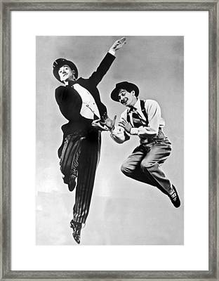 American Ballet Dancers Framed Print by Underwood Archives