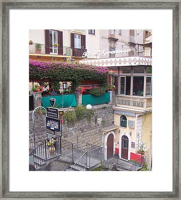 American Bar Sorrento Framed Print