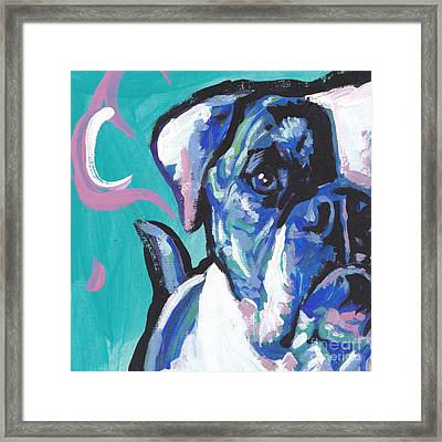 American Bully Boy Framed Print by Lea S