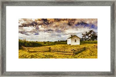 American Camp San Juan Islands Framed Print