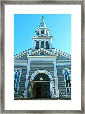 American Church Framed Print