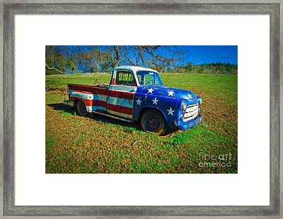 American Classic Framed Print by Dan Julien