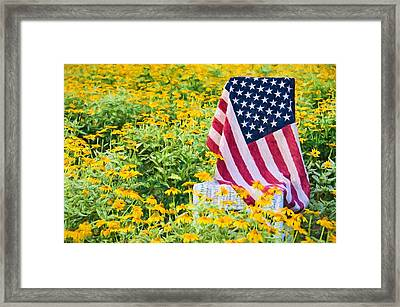 American Country Framed Print