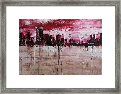 American Cross Section Framed Print by Chad Rice