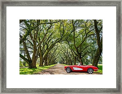 American Dream Drive Framed Print by Steve Harrington