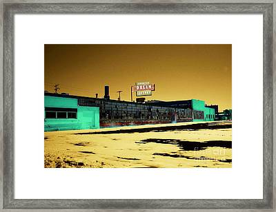 American Dream Factory Framed Print by Desiree Paquette
