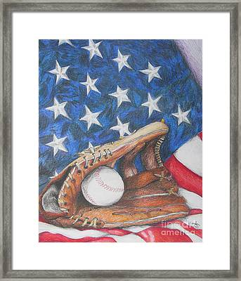 American Dream Framed Print by Rob Monte