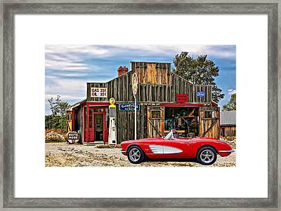 American Dreams Framed Print