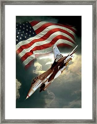 American Feedom  Framed Print