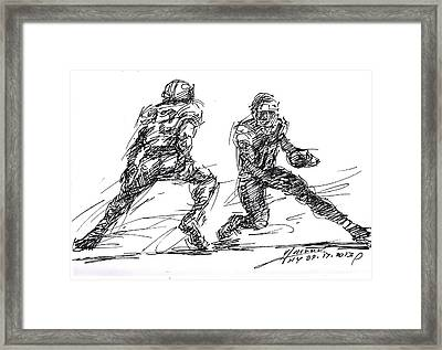 American Football 3 Framed Print