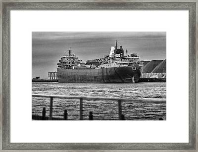 American Fortitude Final Voyage Framed Print