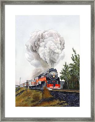 American  Freedom  Train #4449 Framed Print