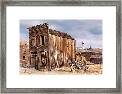 American Ghost Town Bodie Framed Print
