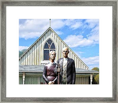 American Gothic  Framed Print by Bill Cannon