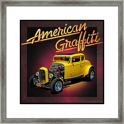 American Graffiti Framed Print by Christopher McKenzie