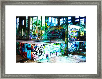 American Graffiti Framed Print by Phill Petrovic