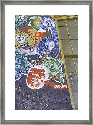 American Grafitti Framed Print by E Osmanoglu