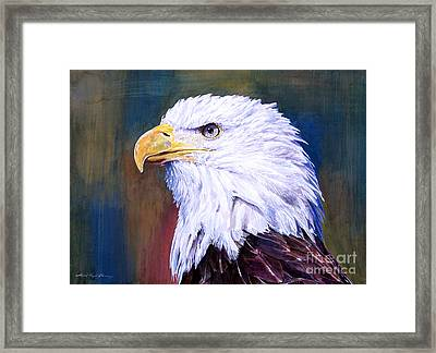American Guardian Framed Print