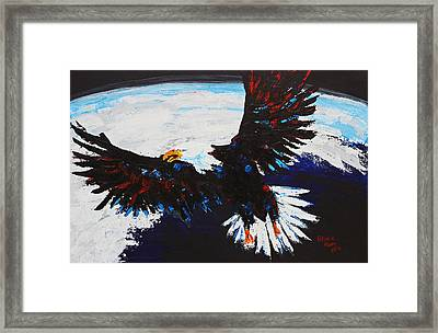 American Guardian Framed Print