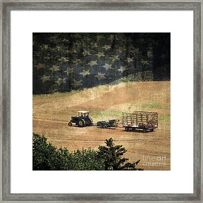 American Heartland Framed Print by Dawn Gari
