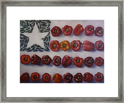 American Heat Framed Print by Kelley Smith