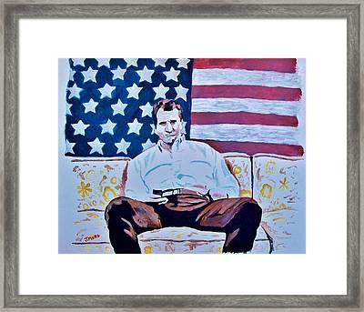 American Hero Framed Print by Jeremy Moore