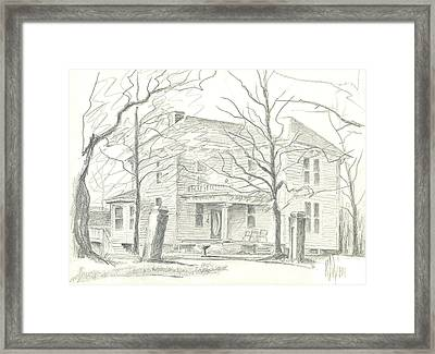 American Home II Framed Print by Kip DeVore