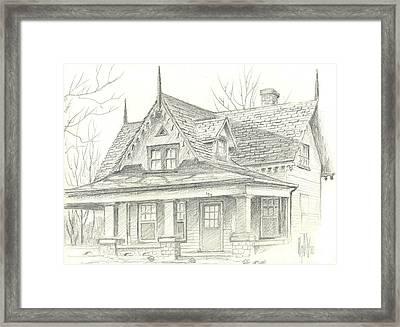American Home Framed Print by Kip DeVore